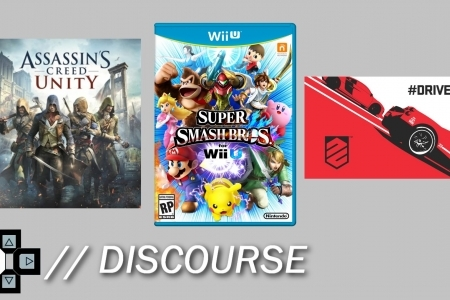 "Assassin's Creed Parity, Smash Bros. Wii U Date, Driveclub Issues (""The D-Pad Discourse"") - YouTube"