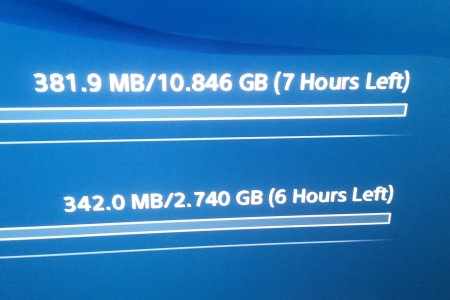 Download speeds