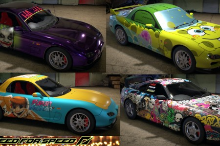 Need for Speed 2015 community car skins
