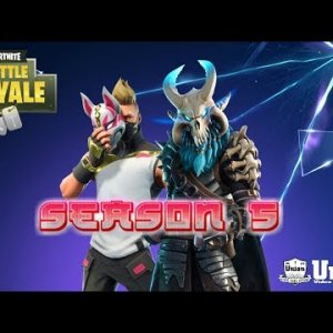 FORTNITE Season 5 Gameplay - XBOX ONE X